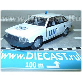 Azlk Moskvitch 2141 Aleko Russian United Nations Police Patrol 1:43 D43R1225