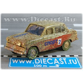 Azlk Moskvitch 403 1963 Soviet Rally Sport Team #2 1:43 D43R1724