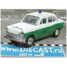 Azlk Moskvitch 403 East German Ddr Police Volkspolizei SE 1:43 D43R0837