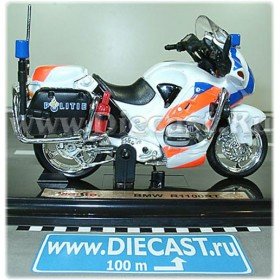 Bmw R1100rt Netherlands Police Politie Motorcycle Bike 1:18 D18D1039