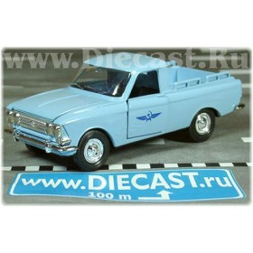Azlk Moskvitch Pickup Russian Airlines Aeroflot Airport Service 1:43 D43R0605
