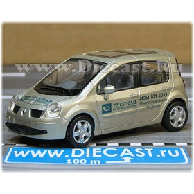 Renault Modus Russian Postal Service Mail Delivery Car 1:43 D43H1755