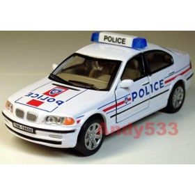 Bmw 328i Sedan French Police France 2000 1:43 D43R0058