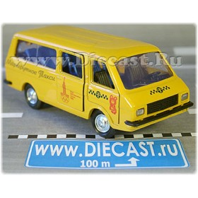 Raf 2203 Latvia Moscow Olympic Games 1980 Taxi Van 1:43 D43R1544