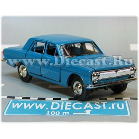 Gaz 24 Volga Russian Sedan Color Sky Blue 1:43 D43R2105