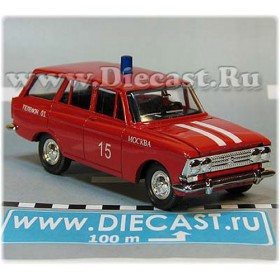 Azlk Moskvitch 426 Russian Fire Guard Fire Chief Moscow district 15 1:43  D43R2003