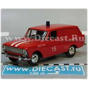 Azlk Moskvitch 433 Russian Fire Guard Fire Chief Moscow district 15 1:43  D43R2004