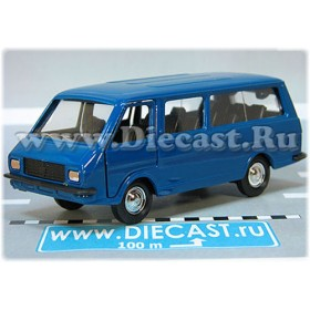 Raf 2203 Latvia Russian Van Color Blue 1:43 D43R2116