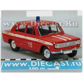 Lada Vaz 2101 1200 Russian Fire Guard Fire Chief Moscow district 15 1:43  D43R2008