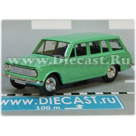 Lada Vaz 2102 1200 Russian Estate Wagon Color Fresh Green 1:43 D43R2122