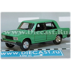 Lada Vaz 2105 Nova 1300 Russian Sedan Color Fresh Green 1:43 D43R2125