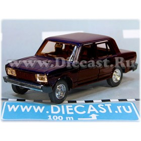 Lada Vaz 2105 Nova 1300 Russian Sedan Color Violet 1:43 D43R2126