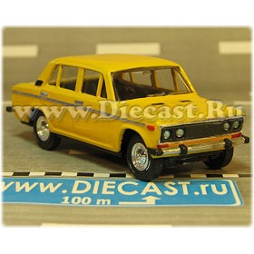 Lada Vaz 2106 1600 ( Fiat 124 Berlina ) Handmade Color Yellow 1:43 D43R2128