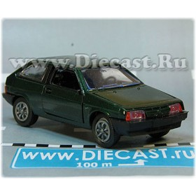 Lada Vaz 2108 Samara Coupe Color Geen 1:43 D43R2131