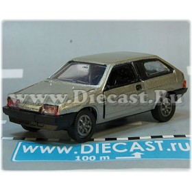 Lada Vaz 2108 Samara Coupe Color Silver 1:43 D43R2132