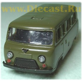 Uaz 452 Russian Army Military Suv 4x4 Metal 1:43 D43R0422