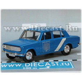 Lada Vaz 2101 1200 Russian Post Mail Delivery 1:43 D43R1991