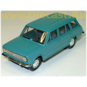 Lada Vaz 2102 1200 Station Wagon Color Green 1:43 D43R0446