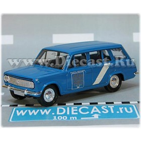 Lada Vaz 2102 1200 Station Wagon Russian Post Mail Delivery 1:43 D43R1989