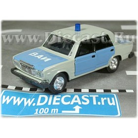 Lada Vaz 2107 Russian Military Police Type#2 1:43 D43R1052