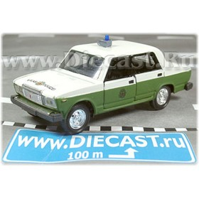 Lada Vaz 2107 East German Ddr Police Volkspolizei Le 1of100 1:43 D43R0829