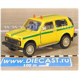 Lada Vaz 2121 21213 Niva 4x4 Russian Armored SEcurity Suv 1:43 D43R1796