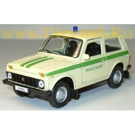 Lada Vaz 2121 21213 Niva 4x4 Russian Armored SEcurity Suv 1:34 D34W0237