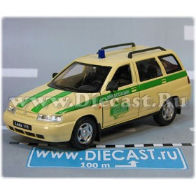 Lada Vaz 111 2111 Russian Armored SEcurity Bank Cash Copany 1:36 D36W1951
