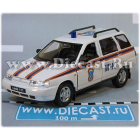 Lada Vaz 111 2111 Russian Ambulance Rescue Fire MCHS 1:36 D36W1943