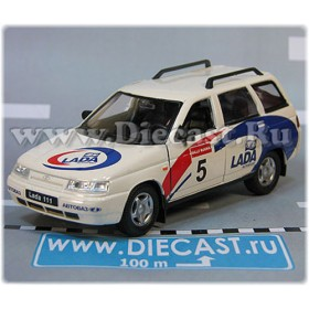 Lada Vaz 111 2111 Russian Estate Wagon Rally Racing Sport 1:36 D36W1955