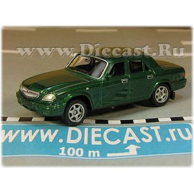 Gaz 31105 Volga Russian Sedan 2003 Color Green 1:60 D60W1801