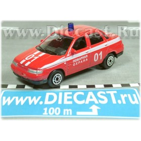 Lada Vaz 110 2110 Russian Fire Guard 1:60 D60W0905