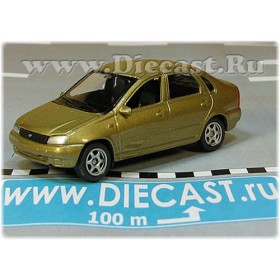 Lada Vaz 118 2118 Kalina Color Gold Metallic 1:60 D60W1823