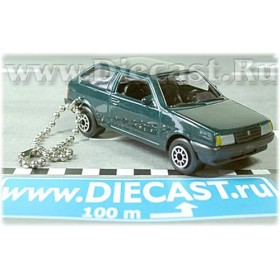 Lada Vaz 2108 Samara Russian Coupe Color Green Keyring 1:60 D43W1185