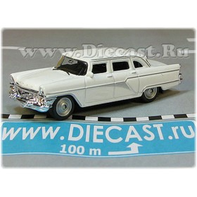 Gaz 13 Chaika Soviet Russian Limousine Color White 1:72 D72W1833