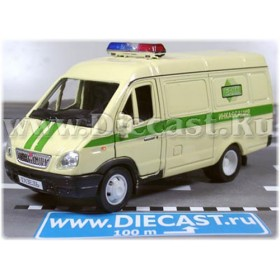 Gaz 2750 Gazelle Russian Armored SEcurity Service Van 1:43 D43W0666