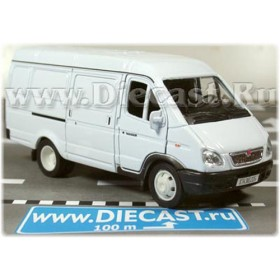 Gaz 2750 Gazelle Russian Cargo Van Color White 1:43 D43W0653