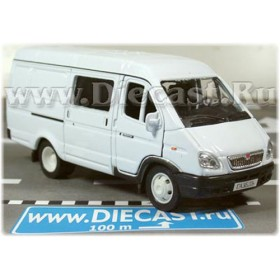 Gaz 2750 Gazelle Combi Russian Van Color White 1:43 D43W0657