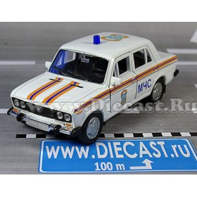 Lada Vaz 2106 Russian Ambulance Rescue Fire MCHS 1:36 D36W1352