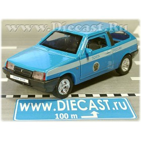 Lada Vaz 2108 Samara Russian Postal Service Mail Delivery 1:38 D36W1350