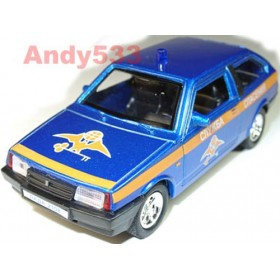 Lada Vaz 2108 Samara Russian Rescue Team Like 911 1:38 D38W0221