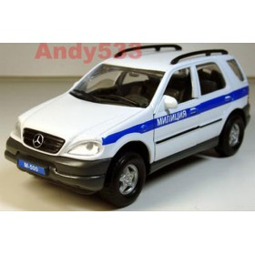 Mercedes Benz M Class Ml 500 Russian Police Patrol Suv 1:32 D32W0234