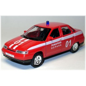 Lada Vaz 110 2110 Russian Fire Guard Rescue 1:36 D36W0230