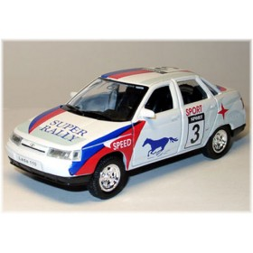 Lada Vaz 110 2110 Russian Super Rally Racing Sport 1:36 D36W0232