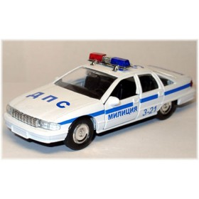 Chevrolet Caprice Russian Police Patrol Dps 1:38 D38W0223
