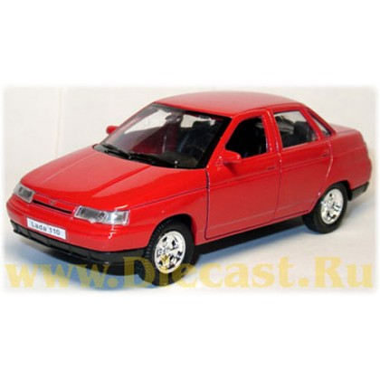 Lada Vaz 110 2110 Red Color 1:36 D36W0491