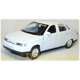 Lada Vaz 110 2110 White Color 1:36 D36W0492