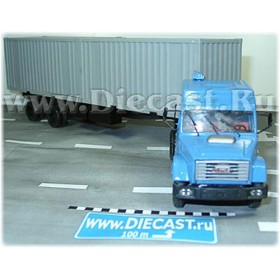 Zil 4331 Russian Container Delivery SEmitrailer 1:43 D43R1327