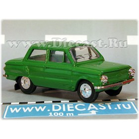 Zaz 968 Zaporozhets 1972-1979 A16 Opening Hood And Trunk Color Green 1:43 D43R1925