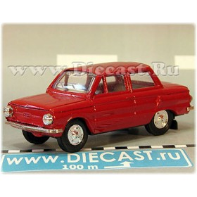 Zaz 968 Zaporozhets 1972-1979 A16 Opening Hood And Trunk Color Red 1:43 D43R1926